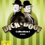 Dick & Doof Kiste 1, mit Spielfilmen und Kurzfilmen, genaue Aufstellung der Titel gerne auf Anfrage.