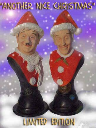 Stan & Olli Christmas Büsten